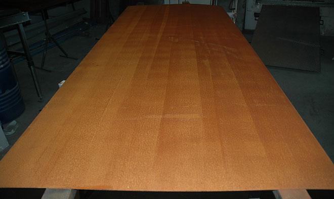 Suministro de acero corten ya oxidado for Acero corten perforado oxidado