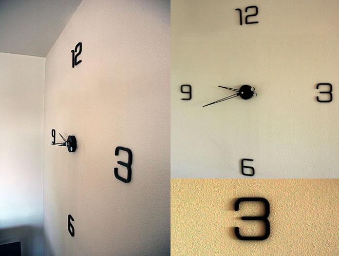 Reloj acero corten