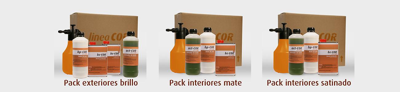 Nuevos packs linea COR