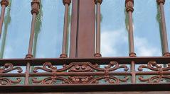 Acero y acero corten para una obra de hace mas de 300 años